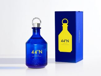 44°N Gin Bottle and Box