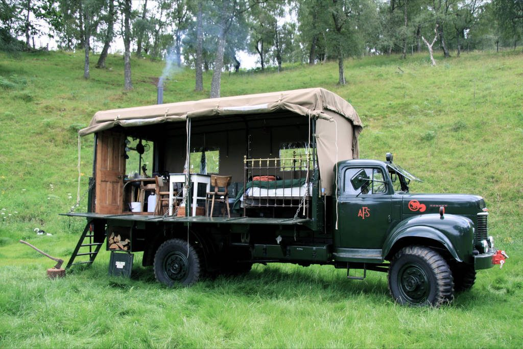Beermoth Truck in the Cairngorms