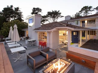 The Getaway Terrace and Firepit