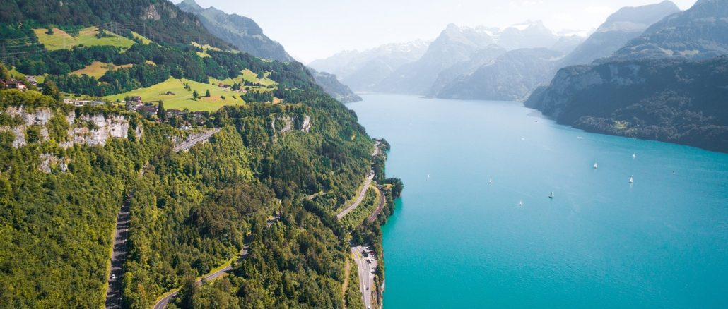 Swiss Driving Route