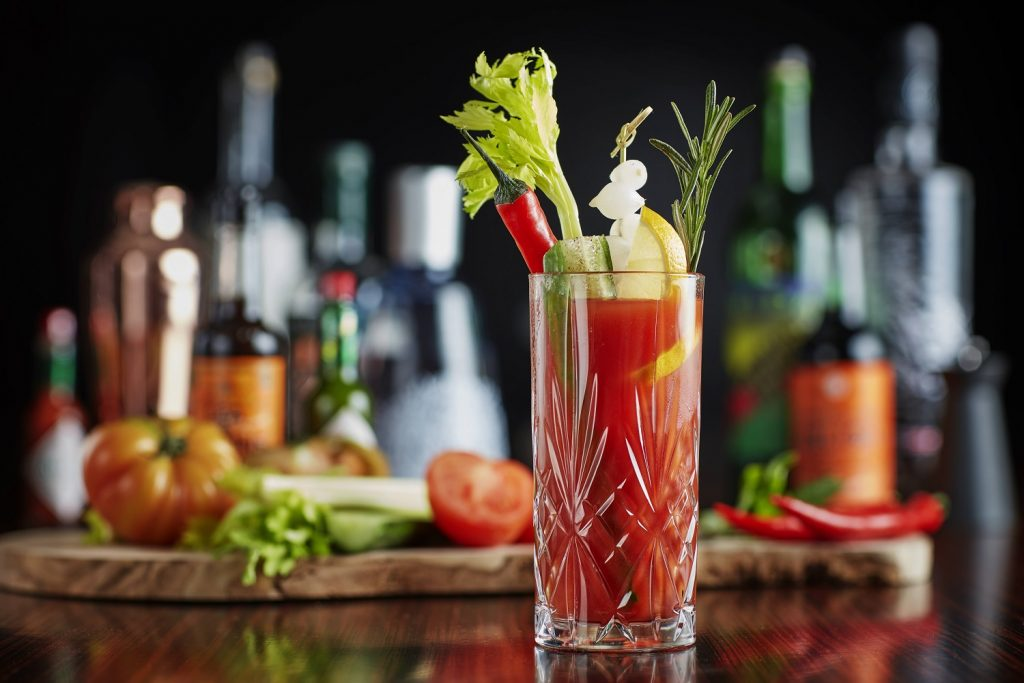 South Place Chop House Bloody Mary