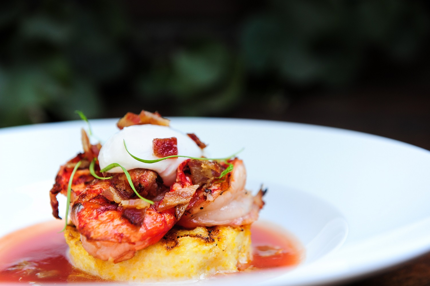 Maple Shrimp and Grits