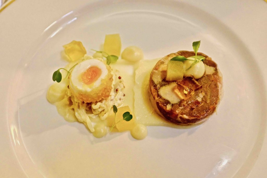 Middlethorpe Hall Guinea Fowl and Quail's Egg
