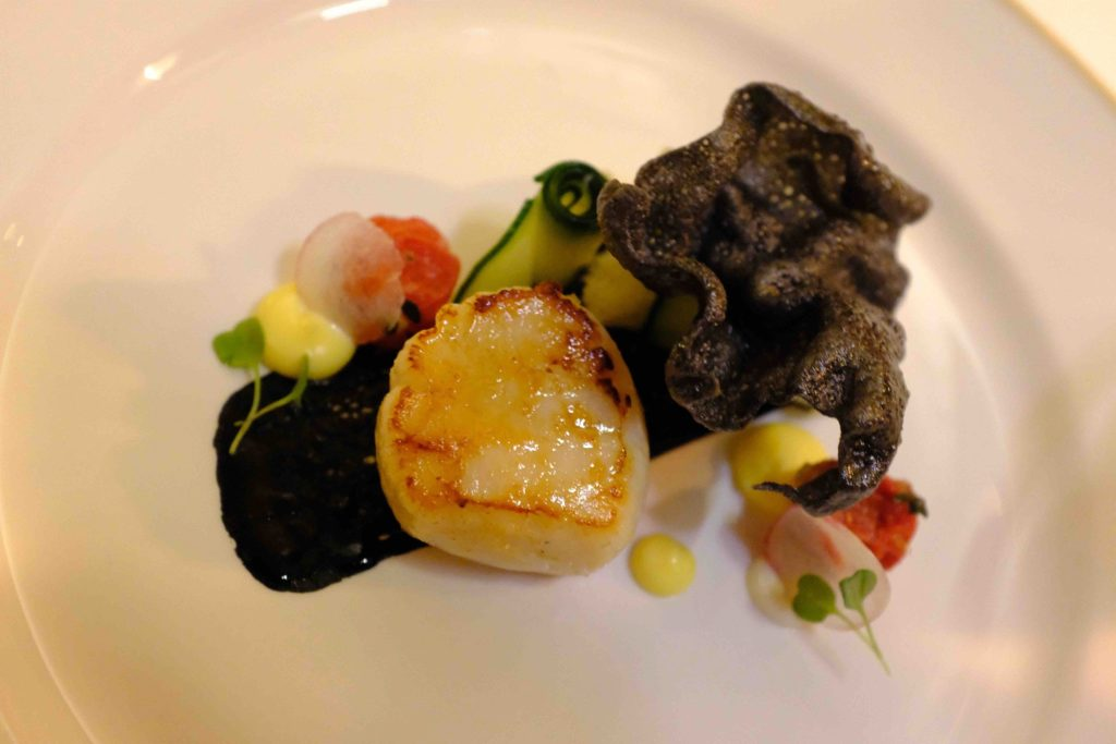 Middlethorpe Hall Scallop and Crab