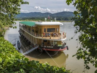 Champa Pandaw on Mekong River