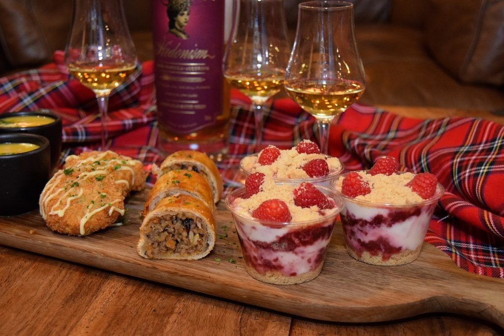 Burns Night Canapes at The Jones Family Project