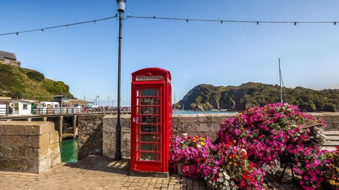English Coastal Town bringing in toursim