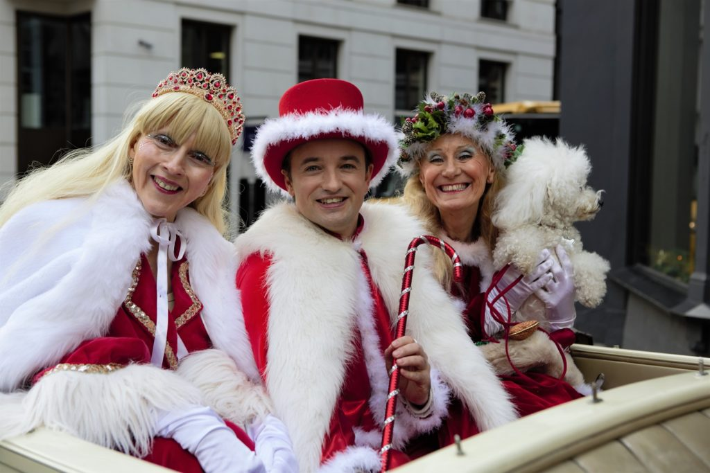London's New Year's Parade Participants