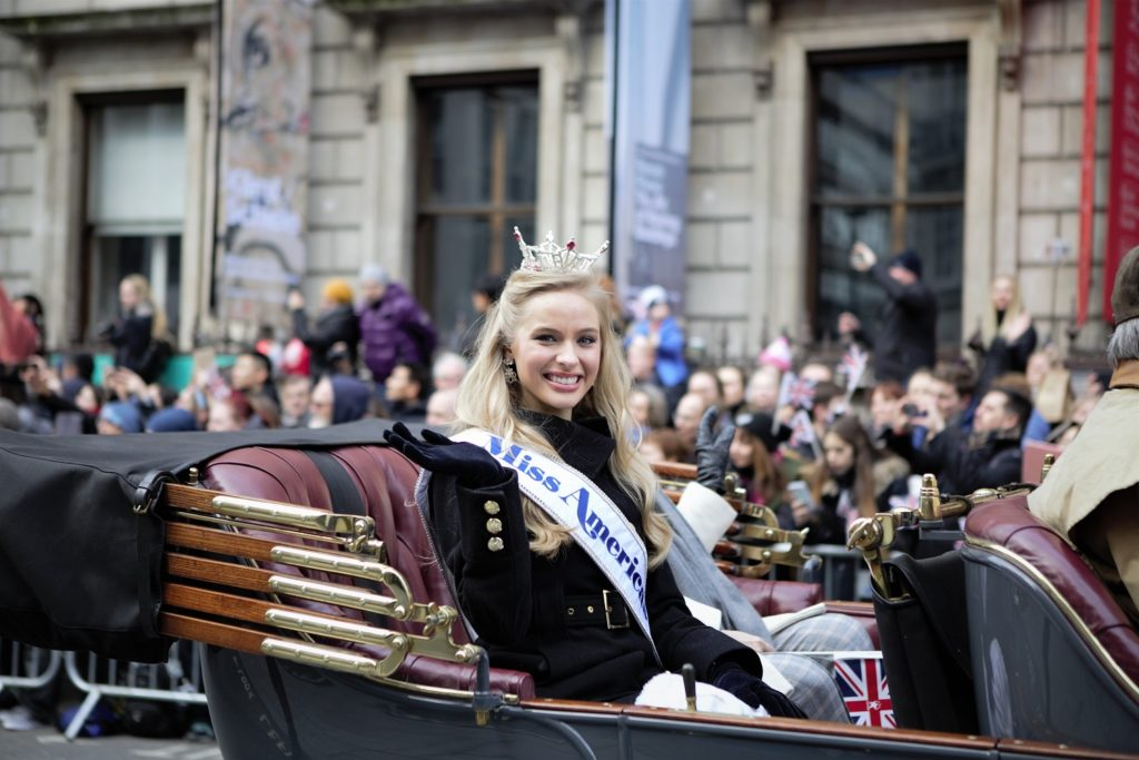 London's New Year's Parade Miss American Teen