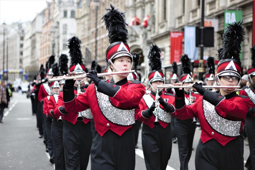 London's New Year's Day Parade High School Marching Band