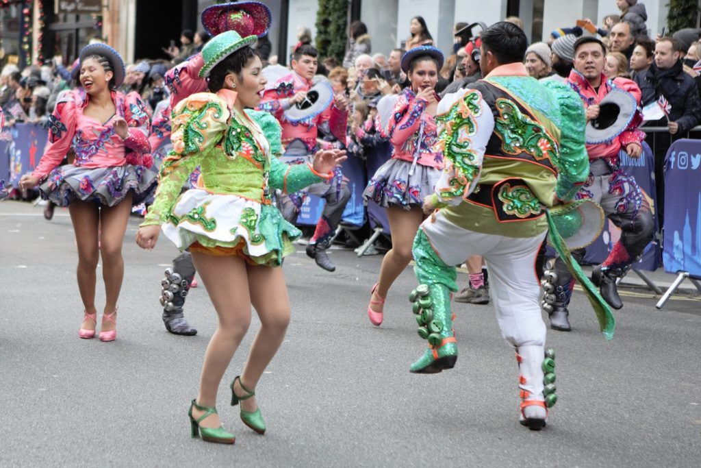 London's New Year's Day Parade Dancers