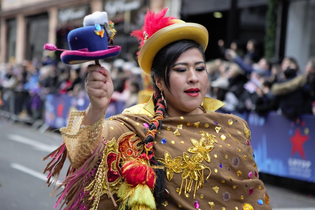 London's New Year's Day Parade Colourful Performers