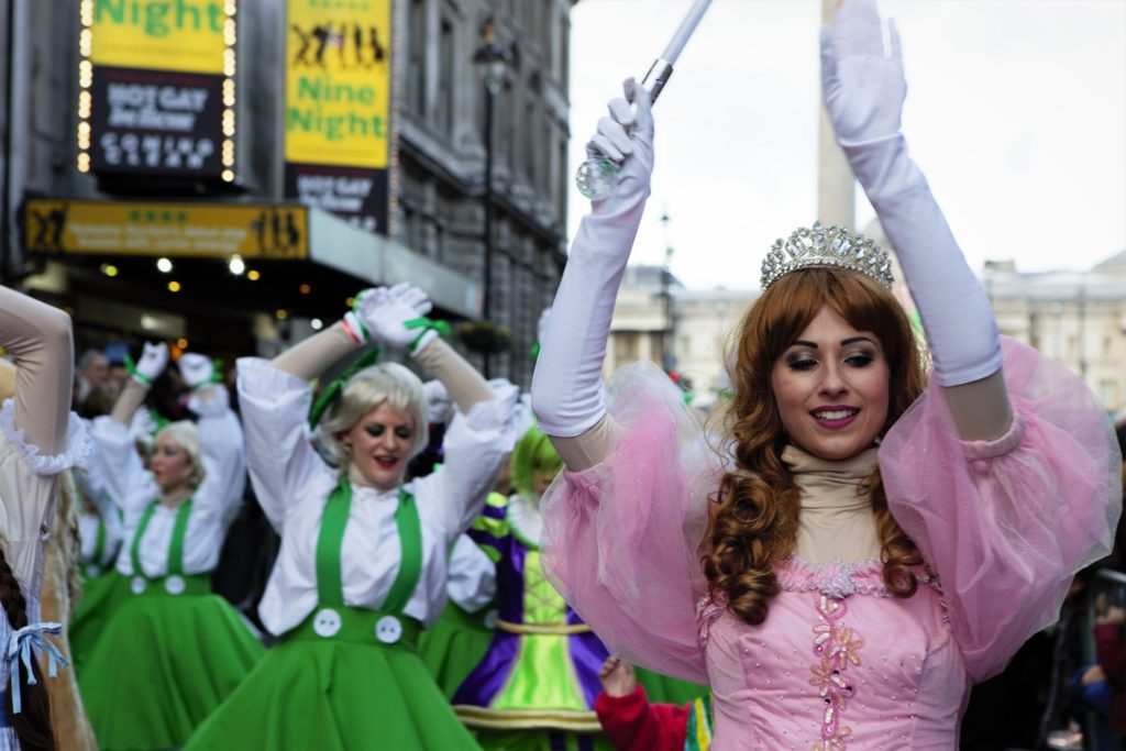 London's New Year's Day Parade Theatre Performers