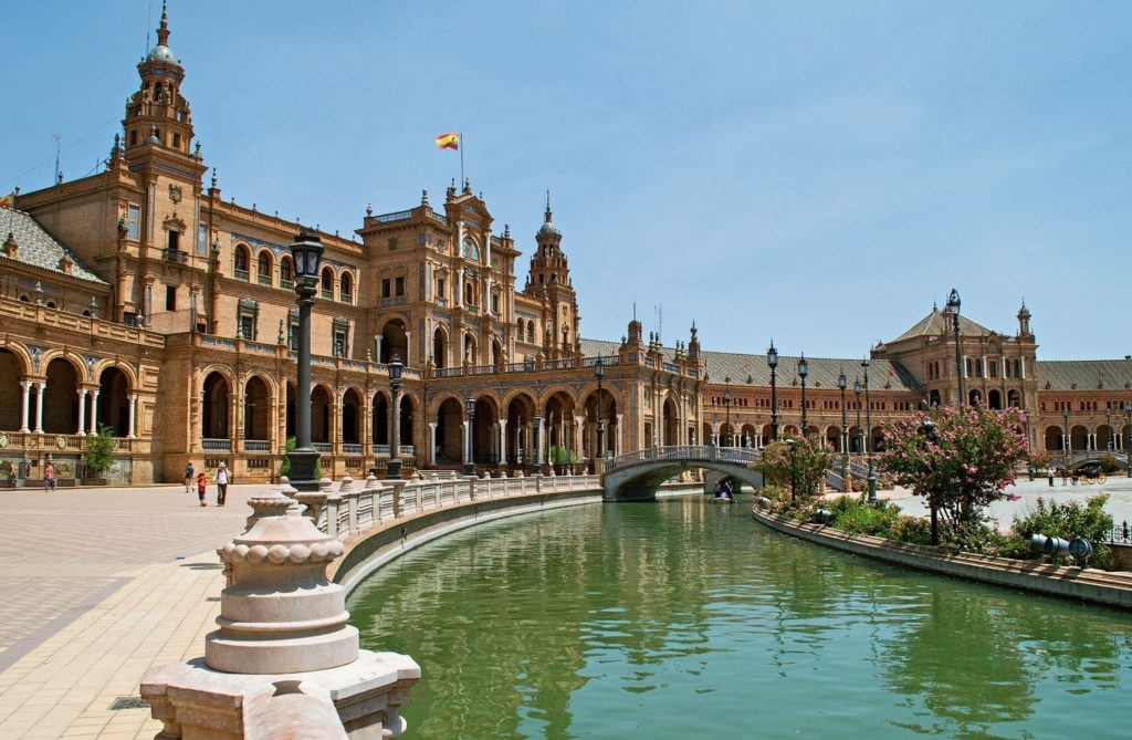 Visiting Seville Place with CroisiEurope