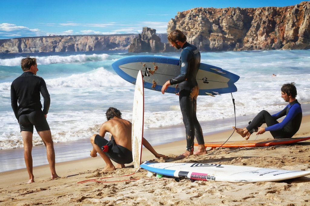 Surfing tourism