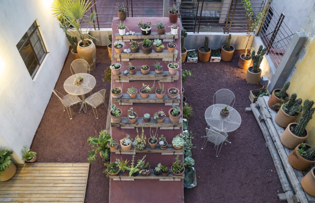 Aerial view of Chaya Roof Terrace