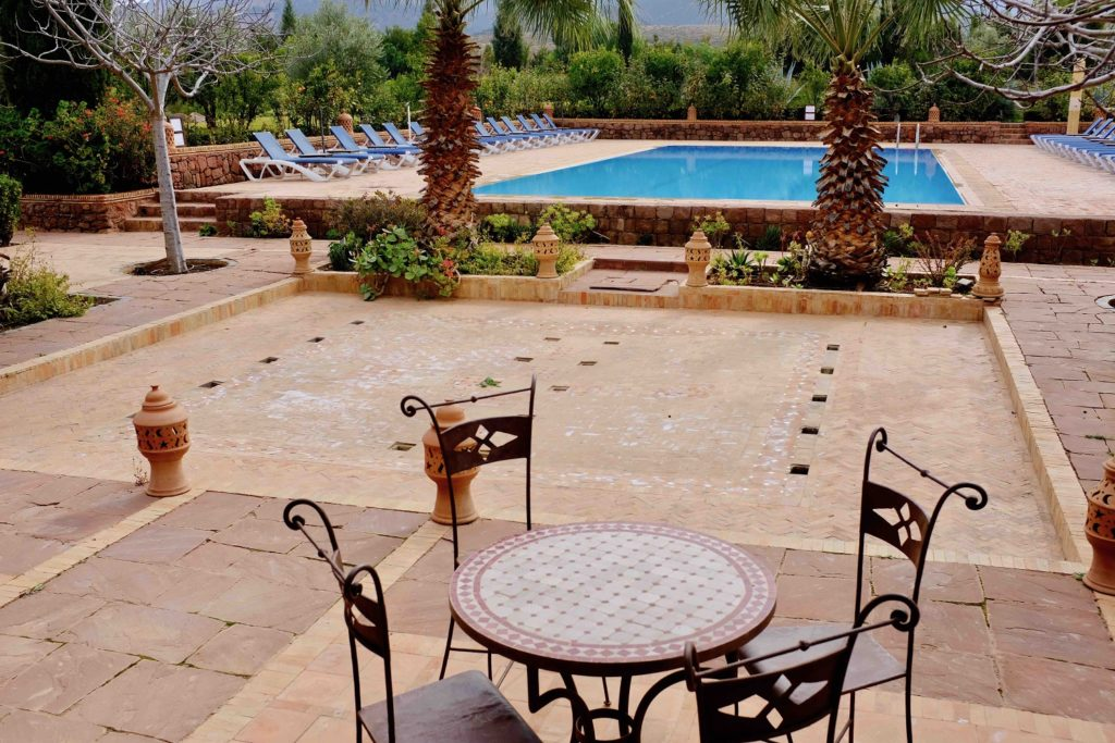 Kasbah Angour Terrace and Pool