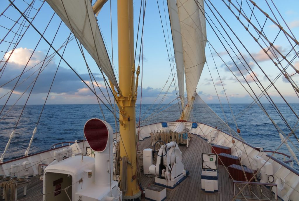 View from Royal Clipper