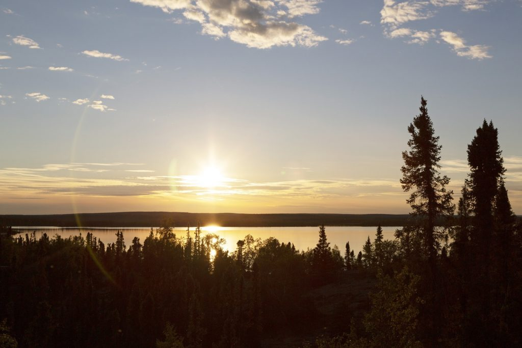 Dillabough Lake in Manitoba