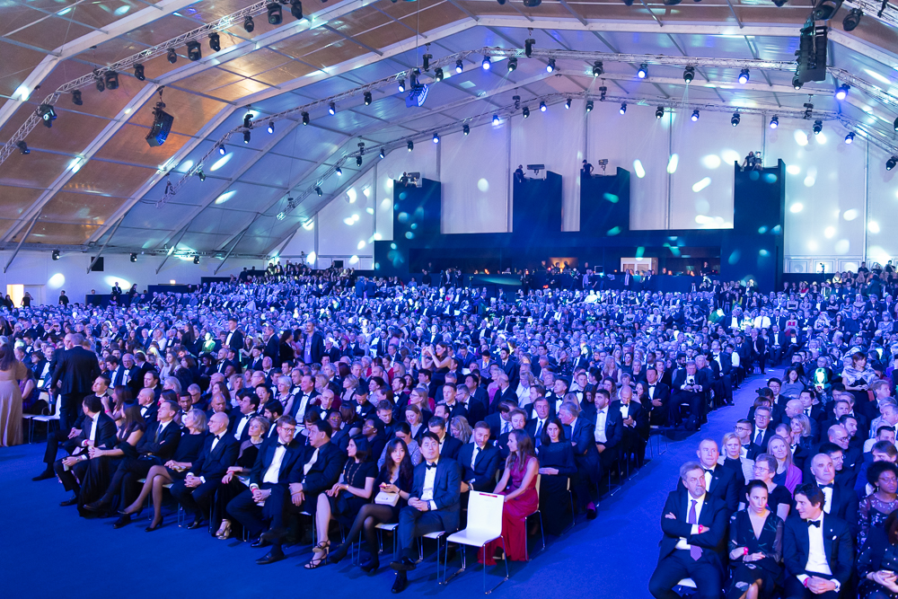 MSC Bellissima main ceremony guests