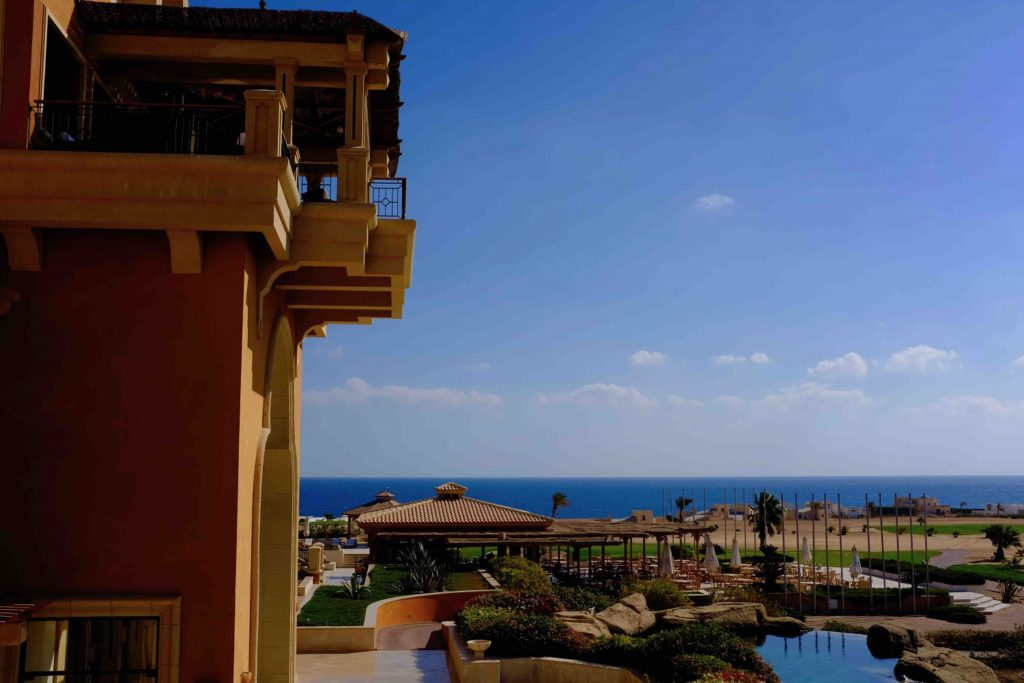 The view from Somabay
