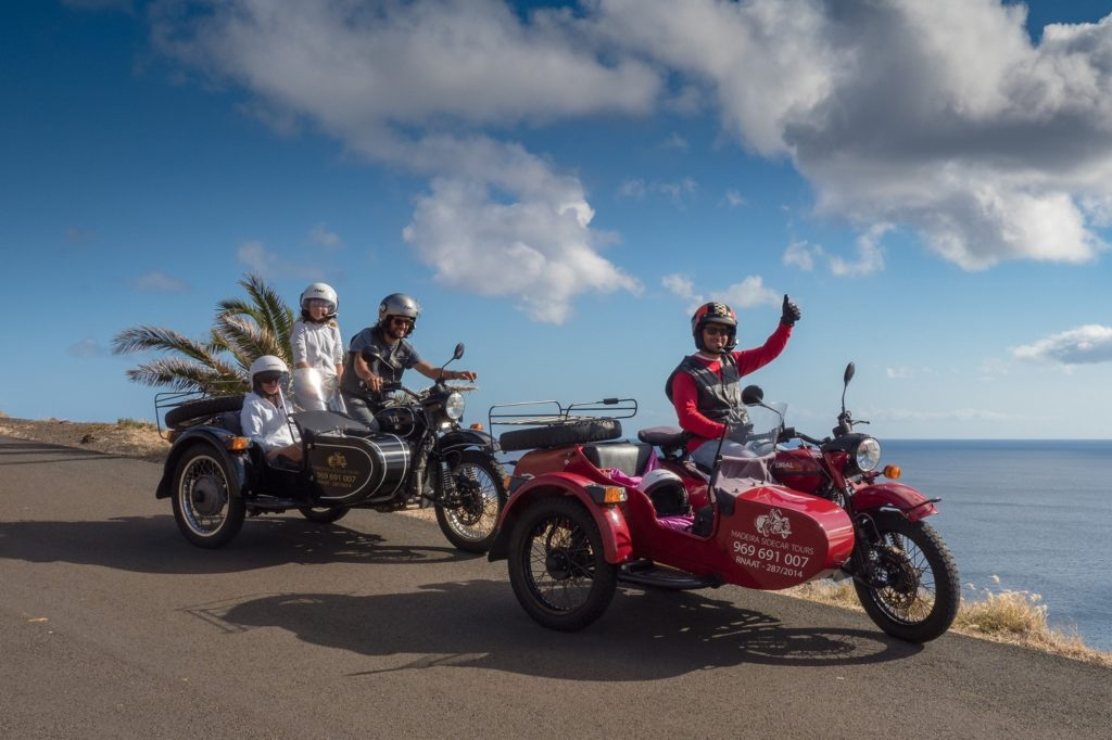 Madeira Sidecar Tours and views