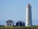 Lighthouse in Reykjavik for perfect proposal