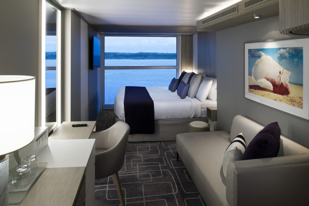 Celebrity Edge State Room with infinity balcony
