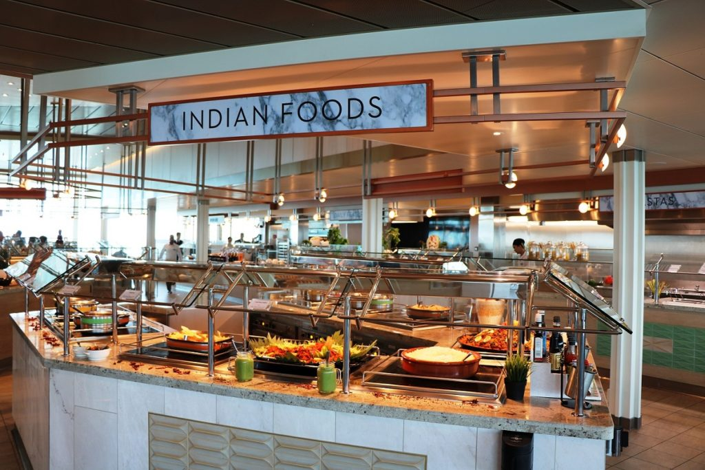 Restaurant Buffet on Celebrity Edge