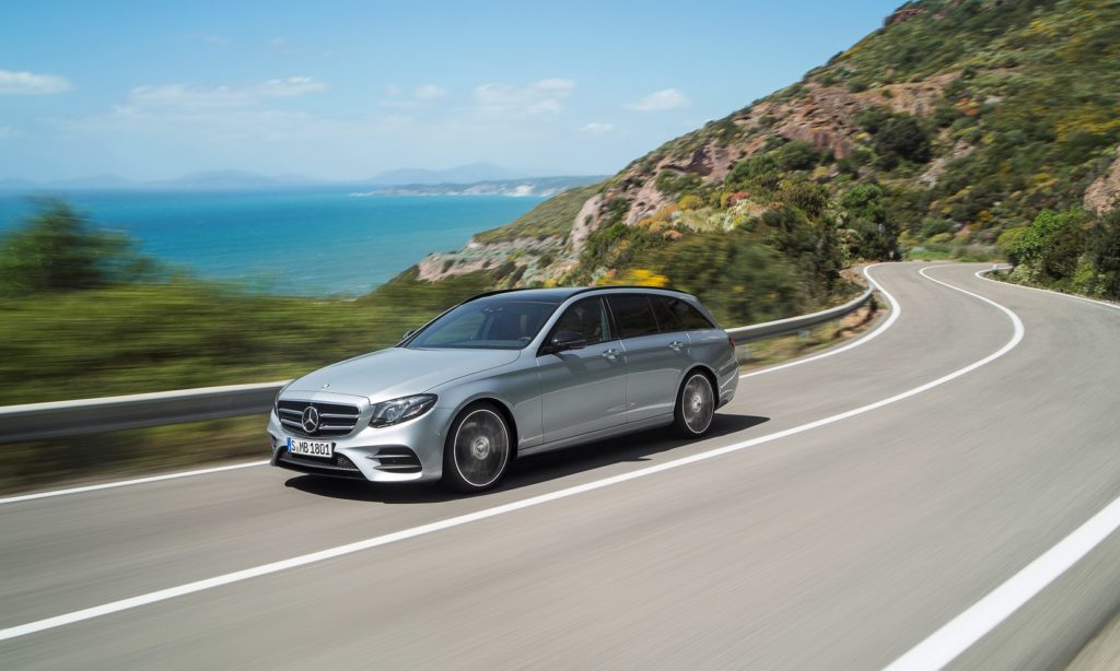 Mercedes-Benz E-Class Estate - pet transport
