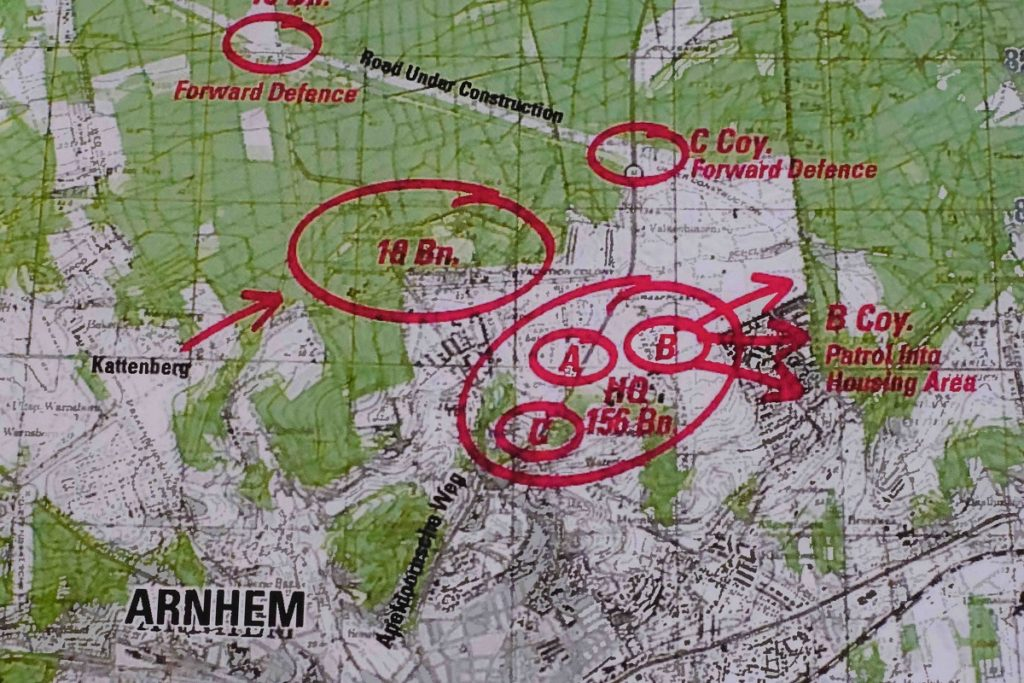 Arnhem Defence Map