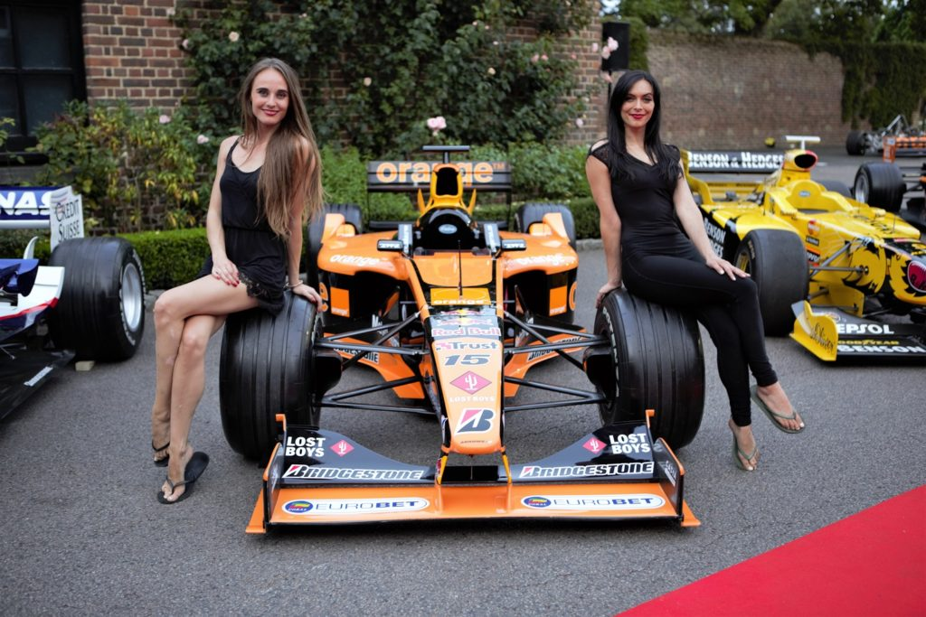 Glamour of the Grand Prix Ball