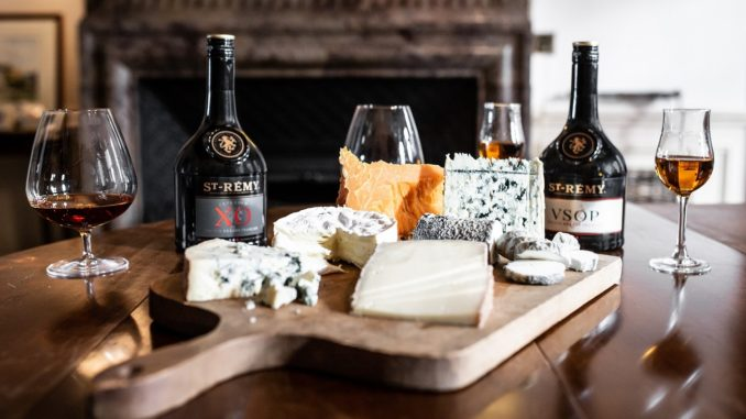 St-Rémy brandy and cheese pairings