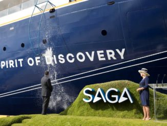 Christening of Spirit of Discovery by HRH The Duchess of Cornwall