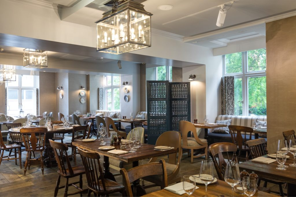 Caxton Grill Tables
