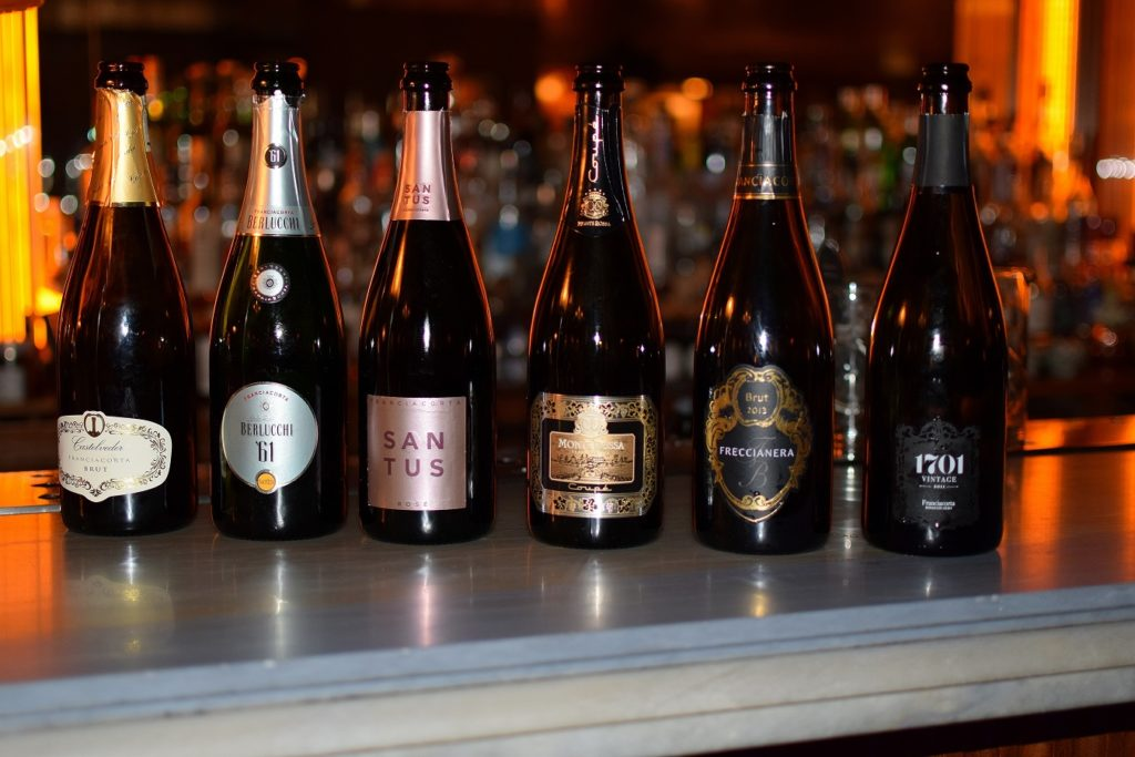 All Six Franciacorta Sparkling Wines