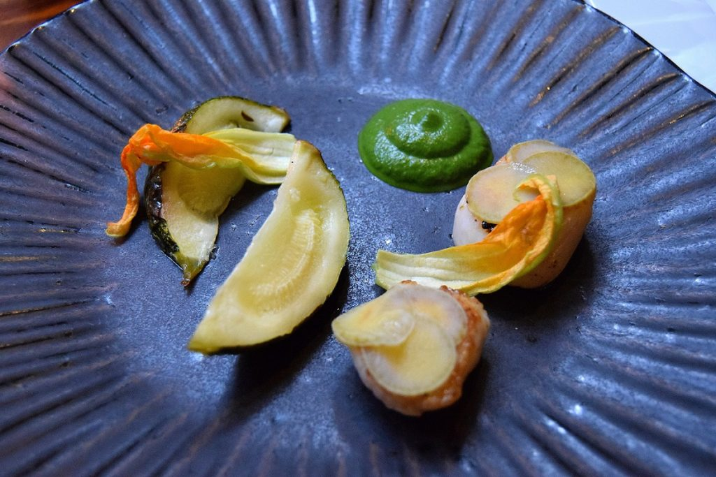 Pan-Fried Hand Dived Scallops