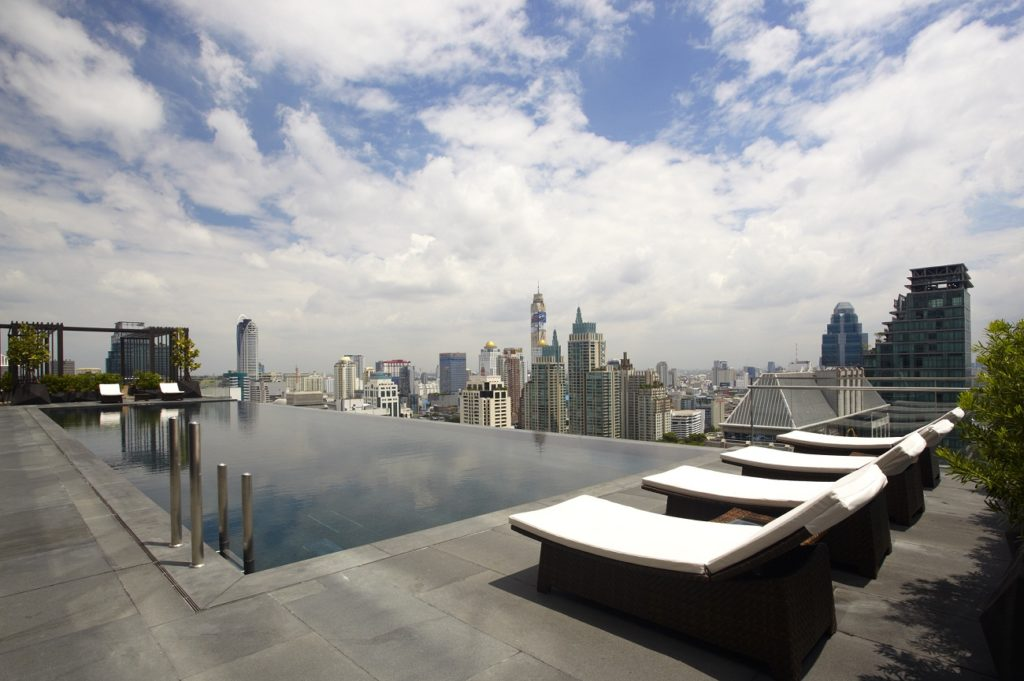 Okura Prestige Bangkok Swimming Pool