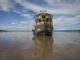 The Amatista cruising on the Amazon River