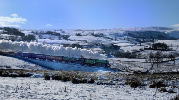 Steam Dreams in the snow