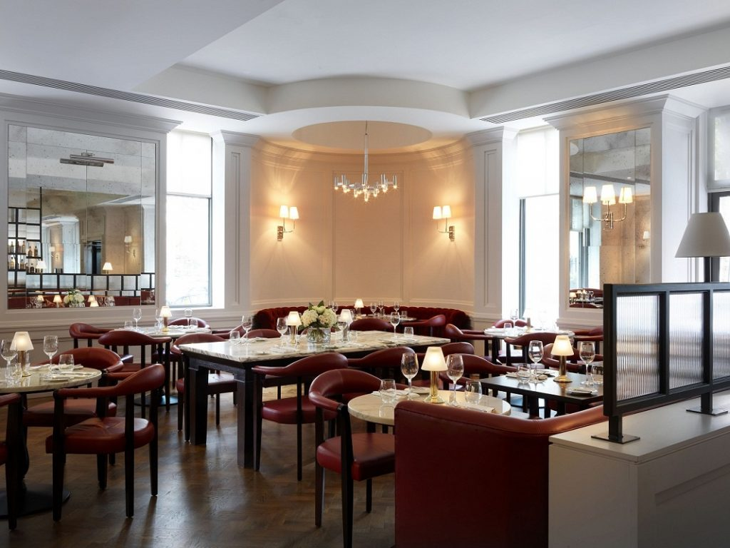 108 Brasserie Seating