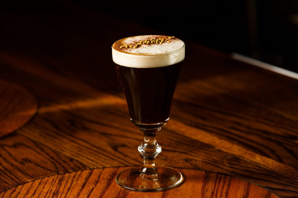 Coffee and Cream festive cocktail