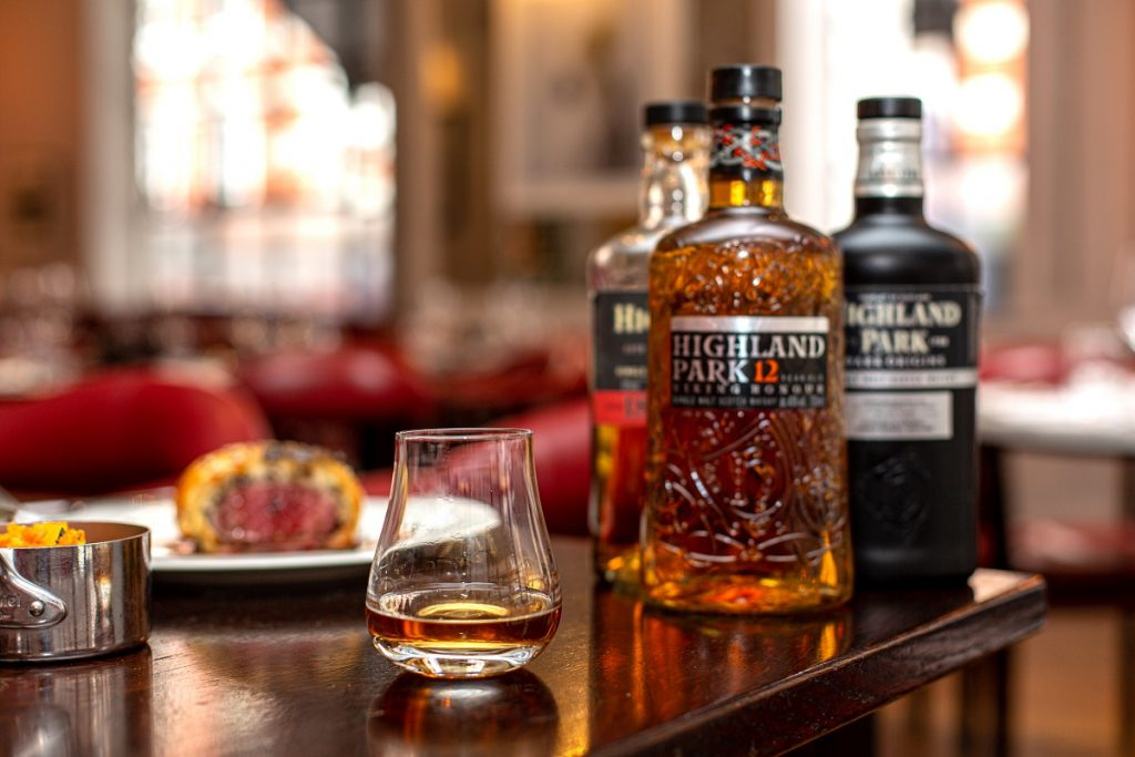 Burns Night and Highland Park at 108 Brasserie