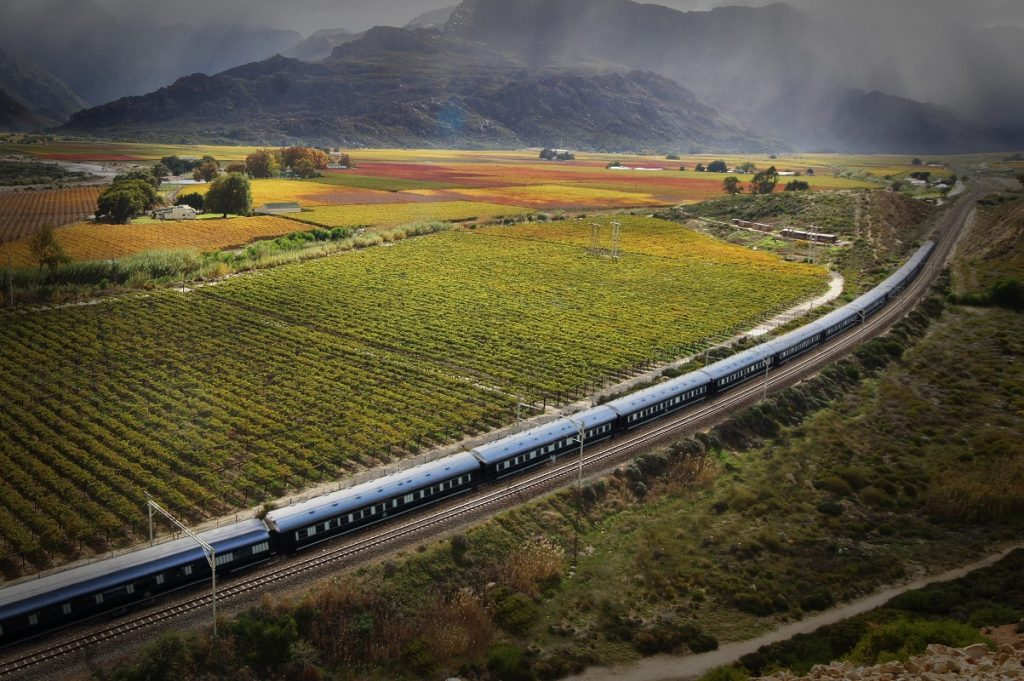 The Pride of Africa Train