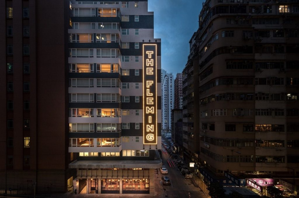 The Fleming Hong Kong Facade