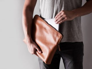 Harber London Carry-All MacBook Folio