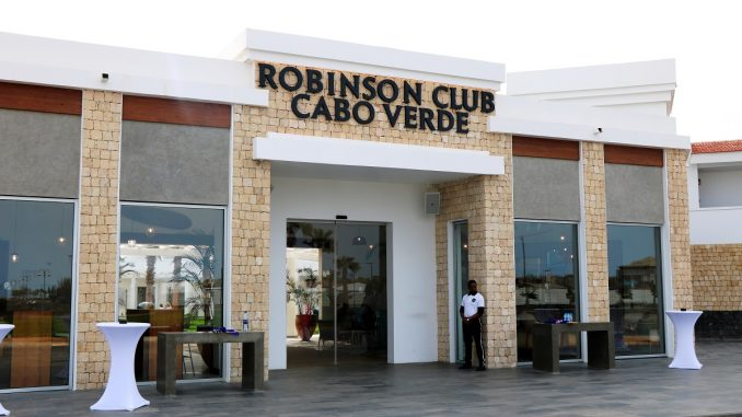 Robinson Club Cabo Verde Entrance