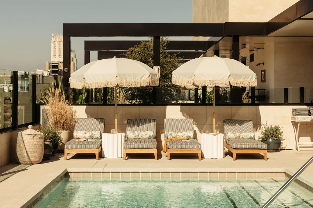 The Hoxton, Downtown LA Rooftop Pool
