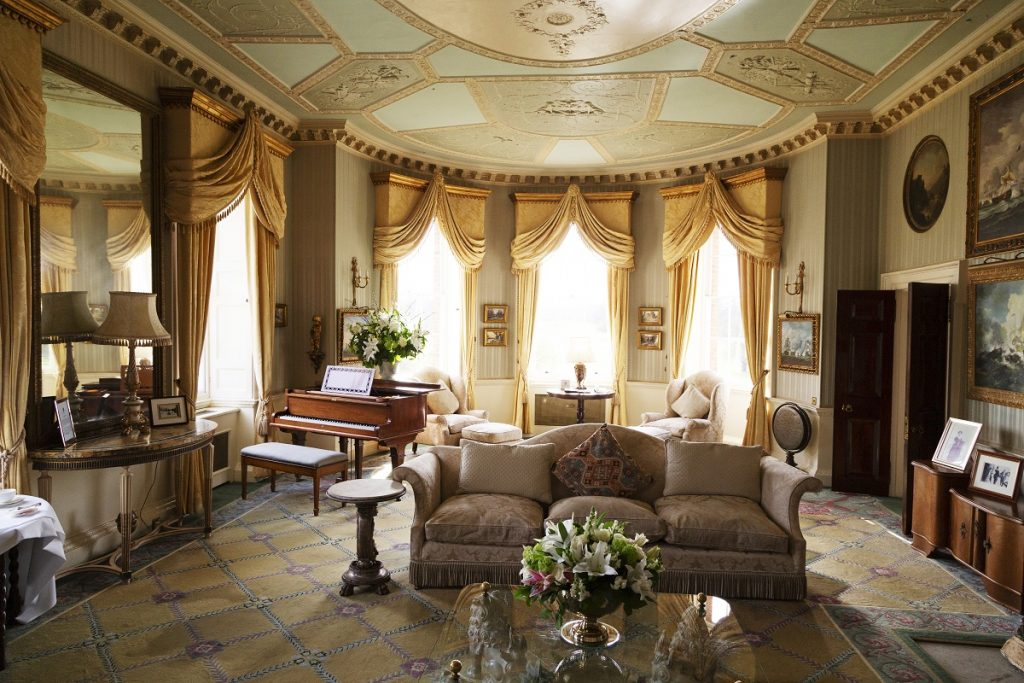 Drawing Room at Brocket Hall