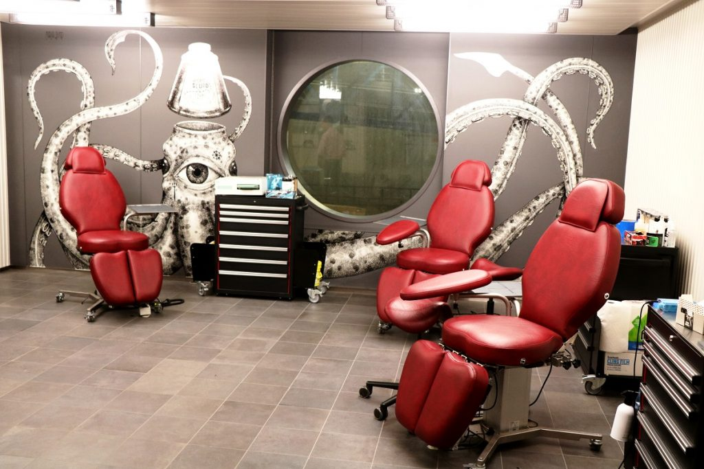 Squid Ink tattoo parlour